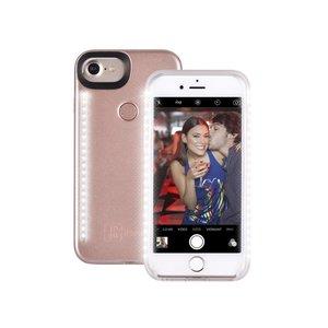 Selfie Hoesje iPhone 8/7/6S/6 Rose Goud