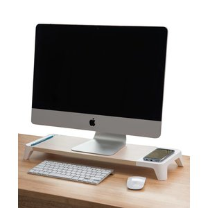 Monitor Standaard Woody Wireless Charger