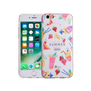 iPhone 6/6S Siliconen Hoesje Summer Cocktails