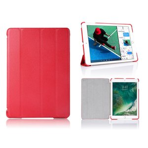 iPad 2017 Hoes / iPad Air Smart Case Leder Rood