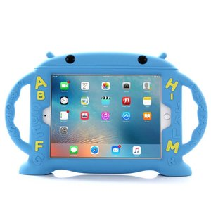 Kinderhoes iPad Mini School ABC Blauw