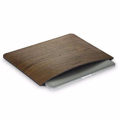 iPad Pro/MacBook Hoes Sleeve tm 13 inch Walnoot