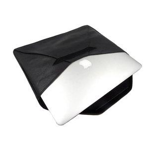MacBook Hoes Sleeve 13 inch Echt Leder Zwart