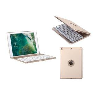iPad (2017) Toetsenbord Hoes Case Note Kee Goud