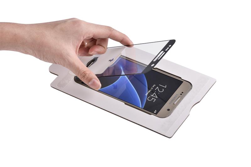 Samsung Galaxy S7 screen protector glas gemakkelijk te plaatsen