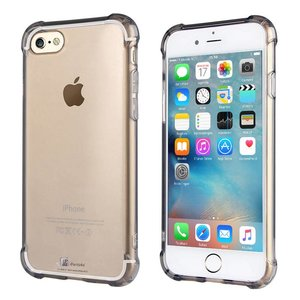 iPhone 6/6S Bumper Case Siliconen Shockproof Zwart