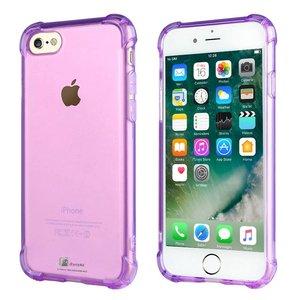 Shockproof iPhone 8/7 Bumper Hoesje Paars