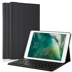 Toetsenbord iPad (2017) Hoes Uitneembaar Zwart