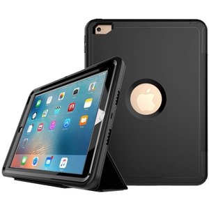 iPad Air 2 Hoes Shockproof Smart Case Zwart