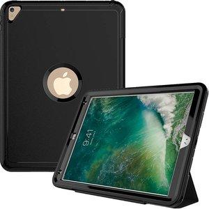 iPad Pro 12.9 Hoes Shockproof Smart Case Zwart