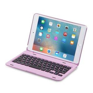 iPad Mini 4 Toetsenbord Case Full Protection Roze