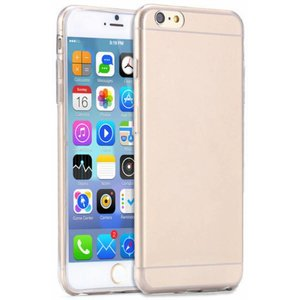 iPhone 6 Plus / 6S Plus Ultra thin 0.3mm Gel TPU Clear transparant Case hoesje