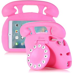 Kinderhoes iPad Mini Retro Telefoon Roze
