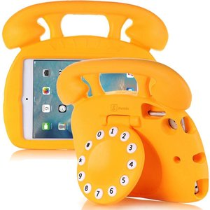 Kinderhoes iPad Mini Retro Telefoon Oranje