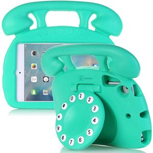 Kinderhoes iPad Mini Retro Telefoon Groen