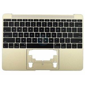 UK Keyboard + Topcase Goud MacBook Retina A1534