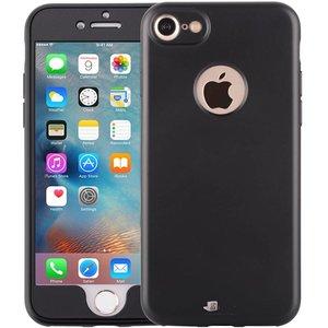 iPhone 6/6S Hoesje 360 Graden Siliconen Zwart