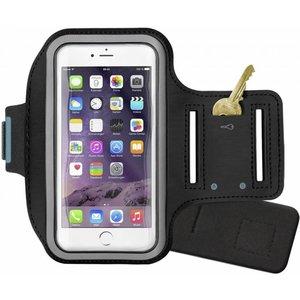 Sport armband hardloop hoesje voor Apple iPhone 6/6S PLUS- Zwart