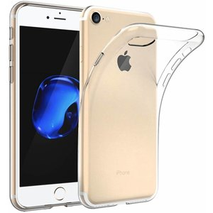 Apple iPhone 7 Ultra thin 0.3mm Gel siliconen transparant Case hoesje