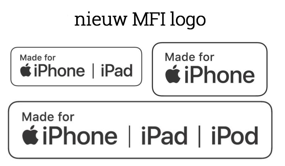 Nieuw MFI logo kabel