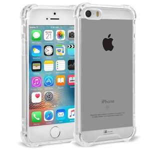 Shockproof iPhone SE/5S/5 Hoesje Transparant