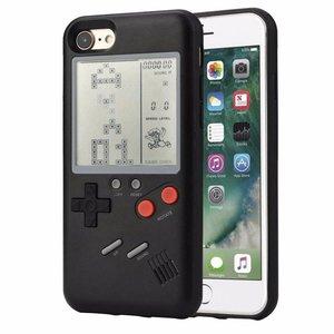 iPhone 6/6S Gameboy Hoesje Retro Game Case Zwart