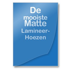 Albyco Lamineerhoezen Mat