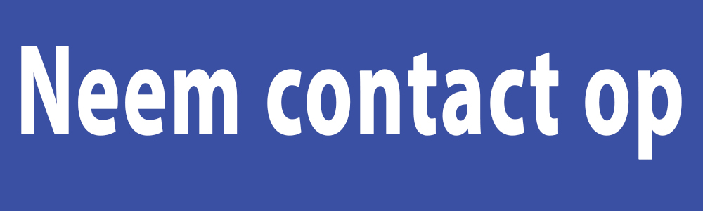 Neem contact op!
