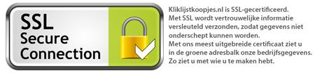 Kliklijstkoopjes is SSL-gecertificeerd