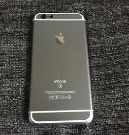 Apple iPhone 6/6s backcover (antraciet zwart)