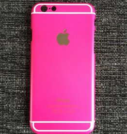 Apple iPhone 6/6s backcover (fel roze)