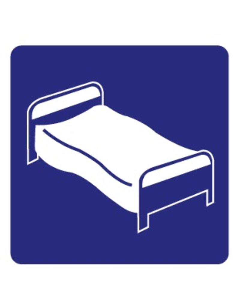 Pegatina cama