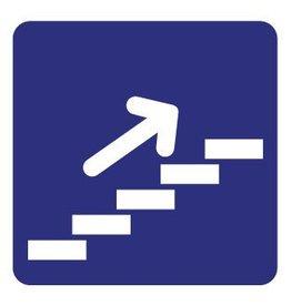 De trap op Sticker