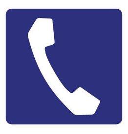 Pegatina teléfono