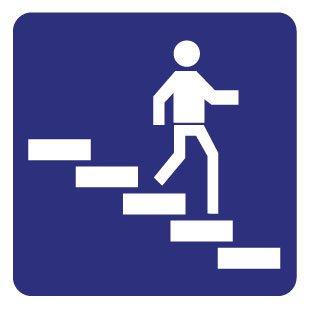 Downstairs Sticker