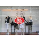 Oval 20% sale Sticker