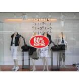 Oval 60% sale Sticker