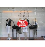 Oval 75% sale Sticker