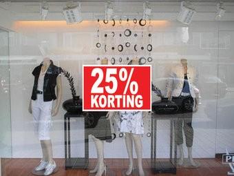 Rectangular 25% sale Sticker