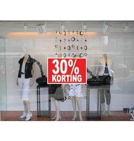 Rectangular 30% sale Sticker