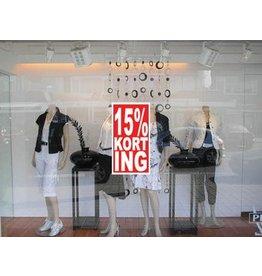 Rectangular 15% sale Sticker