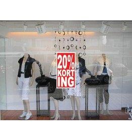 Rectangular 20% sale Sticker