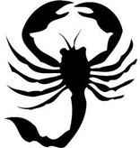 Scorpion autocollant