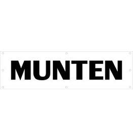 Evenementen spandoek Munten