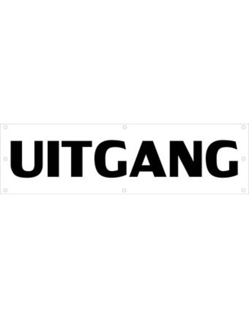 Event banner uitgang