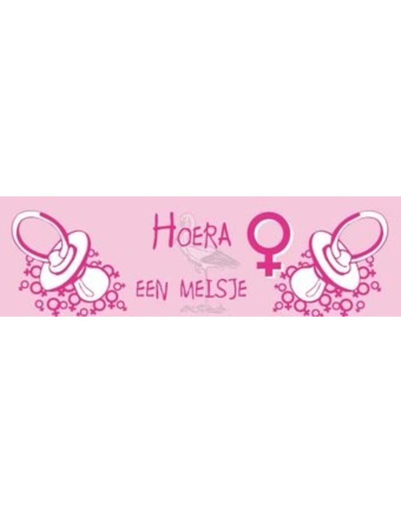Banner Geburt Mädchen