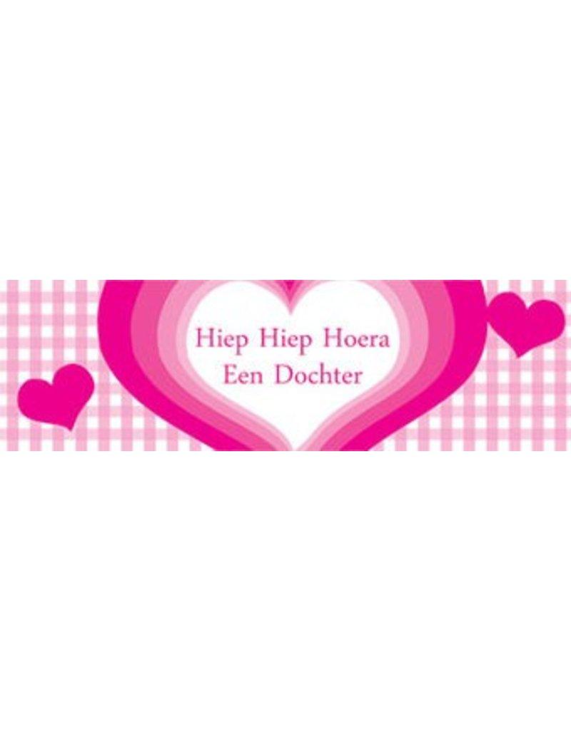 Banner Herz Geburt Tochter