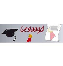 Banner Bestanden Prüfung /  Ausbildung