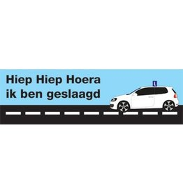 Bannière réussi pour le permis de conduire1