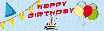Spandoek Verjaardag